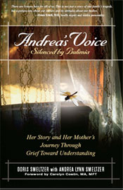 Book cover for Andrea's Voice, Silenced by bulimia